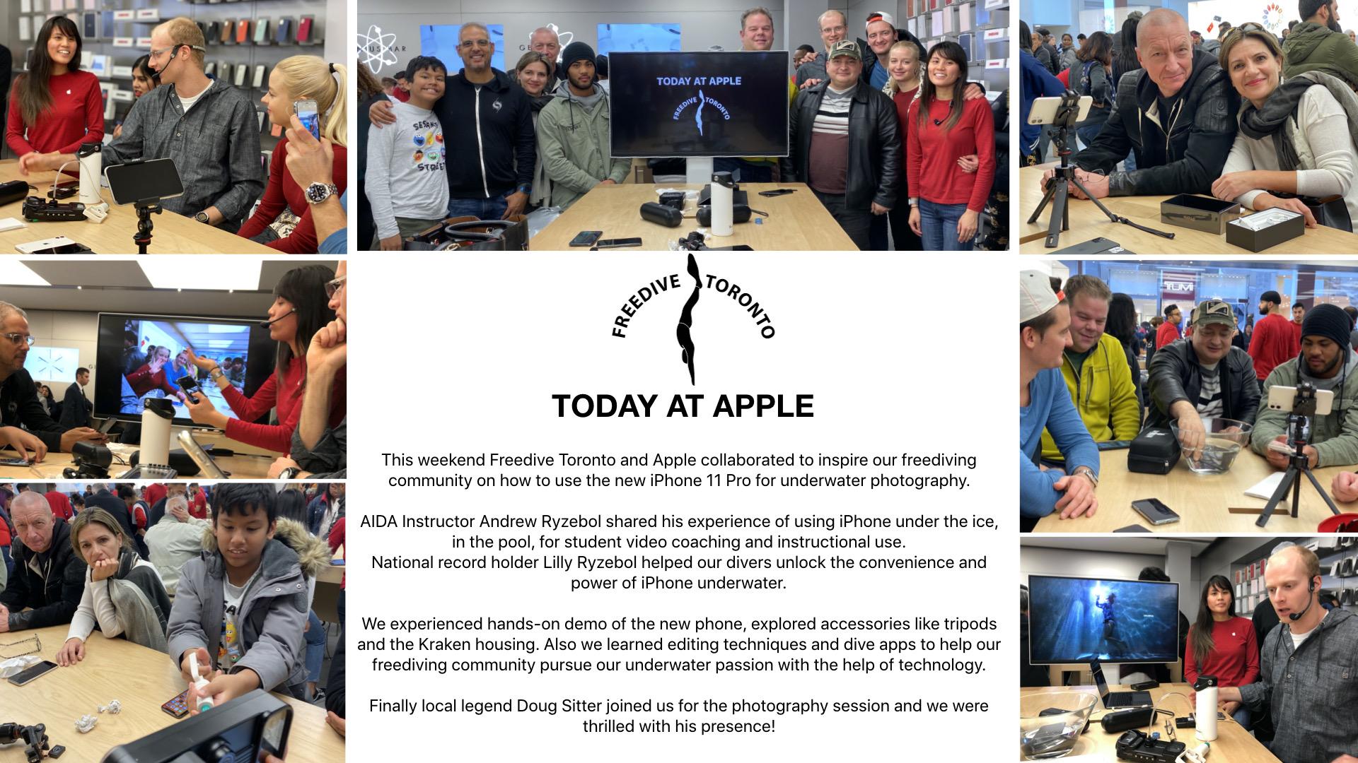 Today at apple - freedive toronto.001